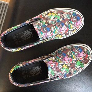Mario Bros Van slip-on sneakers
